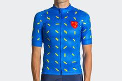 Men's SLIM FIT Blue Sprinkles Jersey