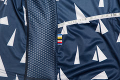 Men's Race Fit Paper Boats Jersey