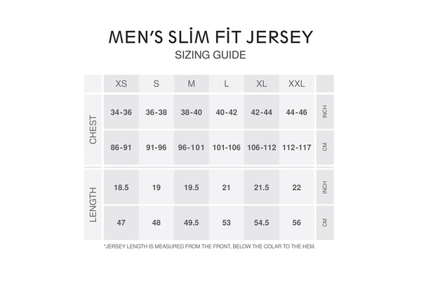 Men's Slim Fit Chamonix Jersey