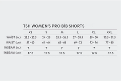 Women's TSH Resort Navy Blue Pro Bibs