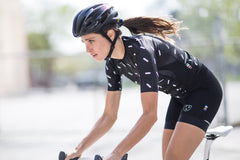 Women's RACE FIT Black Sprinkles Jersey