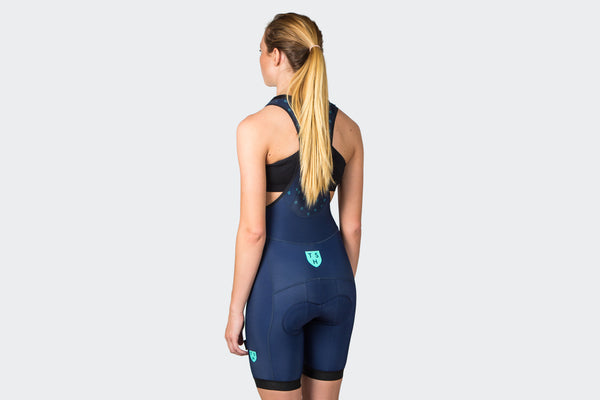 Women's Navy Thermal Pro Shorts