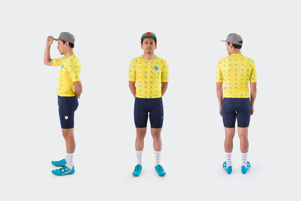 Yellow Sprinkles Race Fit Jersey