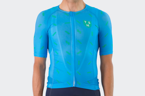Nordic Blue Sprinkles Race Fit Jersey