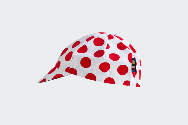 Red Polka Dot Merde! Cap