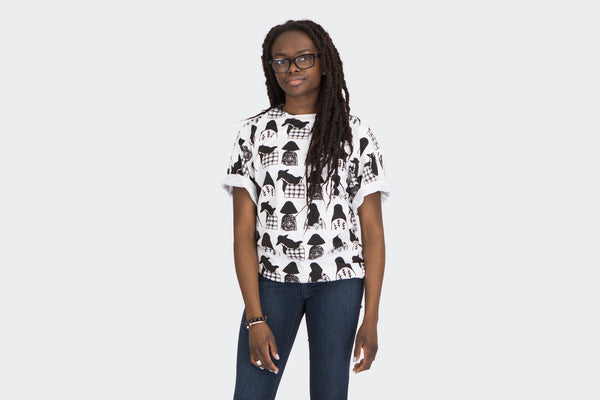 Amelia Strong // TSH Unisex Hairstyles Print All Over T-Shirt