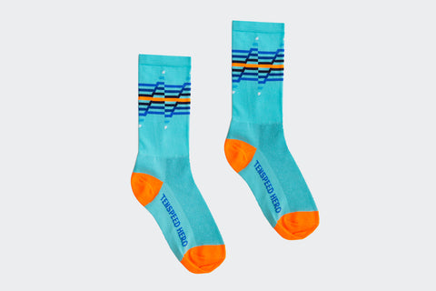 Blue You Are My Disco Socks (Factory Seconds)