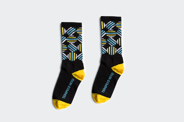 Black Circle Socks (Factory Seconds)