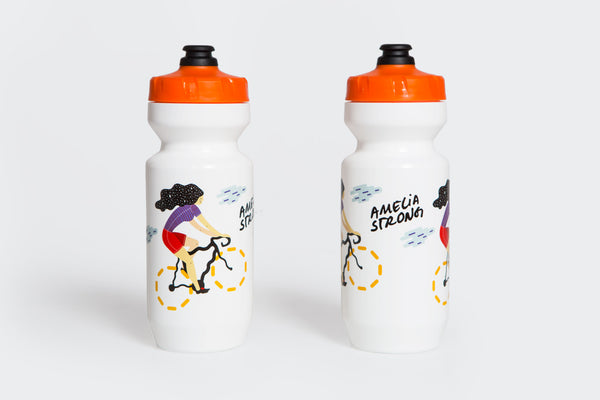 Amelia Strong Star Haired Woman Water Bottles