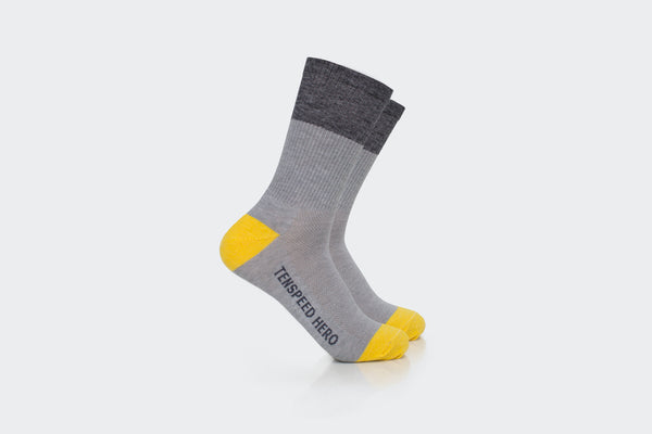 Merino All Road Grey + Gray