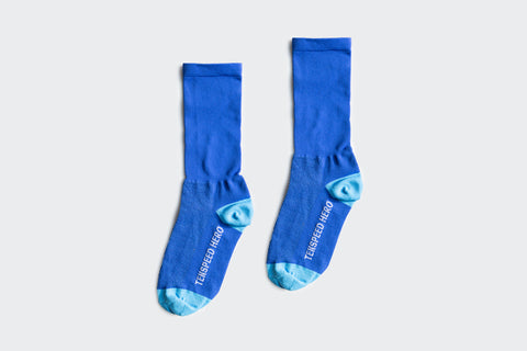 Solid Blue Socks (Factory Seconds)