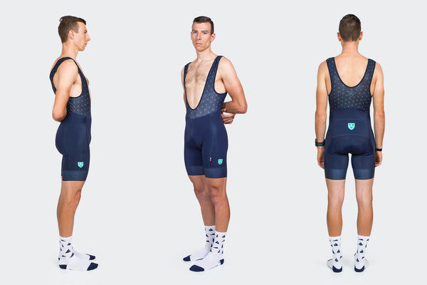 Men's Navy + Celeste Team Short