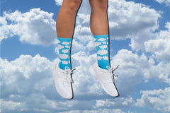 Baby Blue Cloud Socks