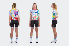 Women's RACE FIT Collage Jersey