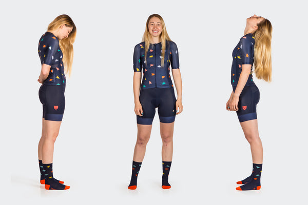 Women's Race Fit Falling Leaf Jersey