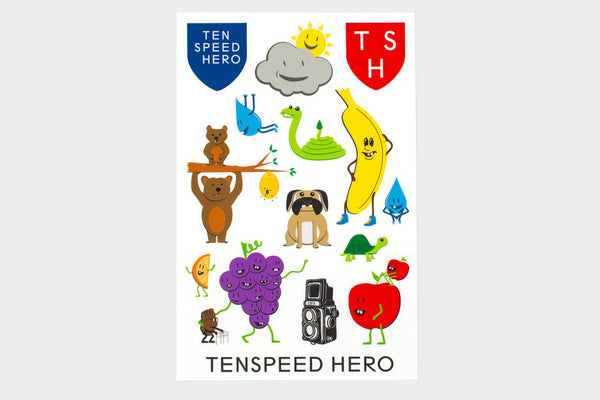 TSH Sticker Sheet (15 Stickers)