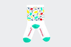 Amelia Strong // TSH Paint Socks