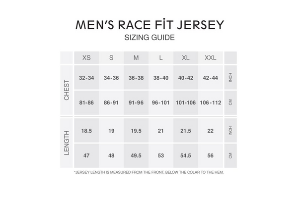 Men's Race Fit Chamonix Jersey