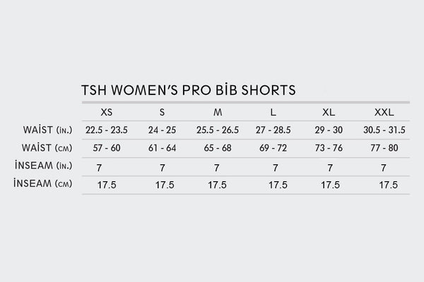 Women's TSH x Squid Team Pro Bibs