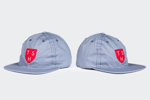 FairEnds / TSH Red Shield Ball Cap - Grey