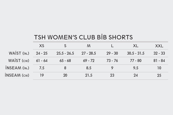 Women's TSH Shorts (No Straps)