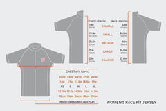 Women's RACE FIT Paper Boats Jersey
