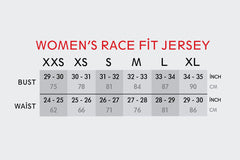 Women's RACE FIT Blue Sprinkles Jersey