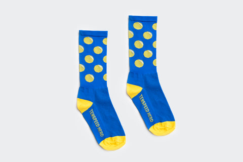 Yellow Circle Socks (Factory Seconds)