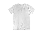 Closed Mouth Tee (White)