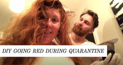 DIY Hair Color During Quarantine
