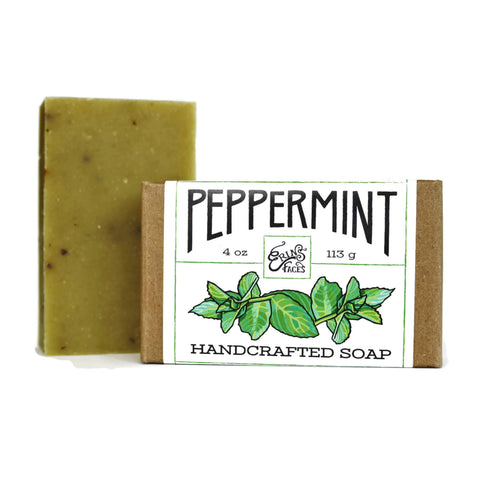 Handcrafted Soap in Peppermint