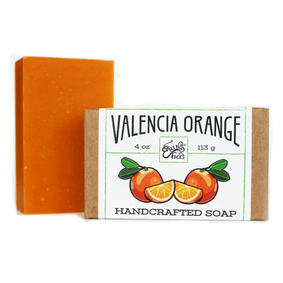 Handcrafted Soap in Valencia Orange