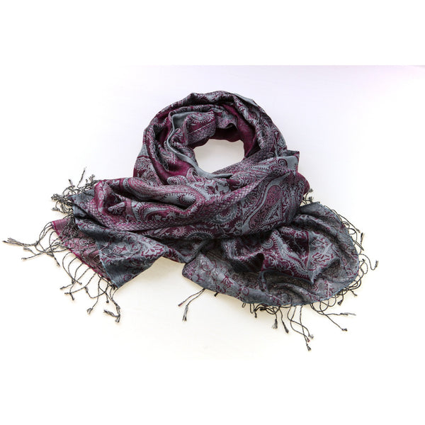 Silk and Wool Pashmina - All India Imports
