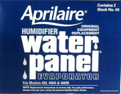 Aprilaire # 45 Replacement  Evaporator Pad  2-pack