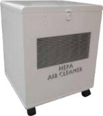 Cinquartz # CQHEPA375VSC Portable True Hepa Air Cleaner on wheels