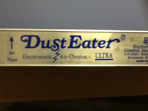 Ultra Dust Eater Electrostatic Air Cleaner 20x25x1