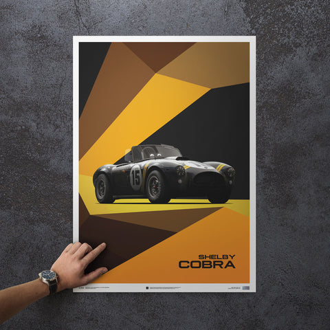 Limited Edition Shelby Cobra print