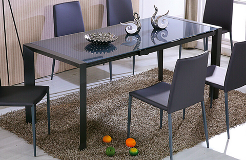 Carbon Dining Table, Dining Table  - Bachelor Haus