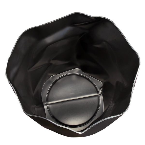 Black Lava trash can, Accessories  - Bachelor Haus