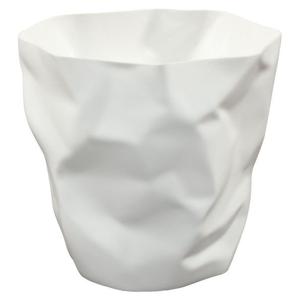 White Lava trash bin, Accessories  - Bachelor Haus