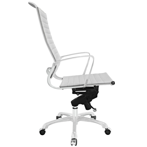 White High-back Tempo office chair, Accent  - Bachelor Haus