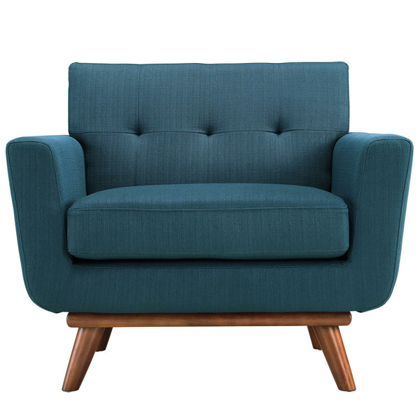 Blue Engage Armchair, Chair  - Bachelor Haus