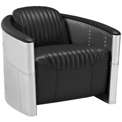 Black Aviator Chair, Chair  - Bachelor Haus