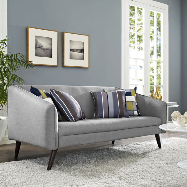 Light Gray Slope Sofa
