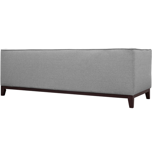 Light Gray Block Sofa