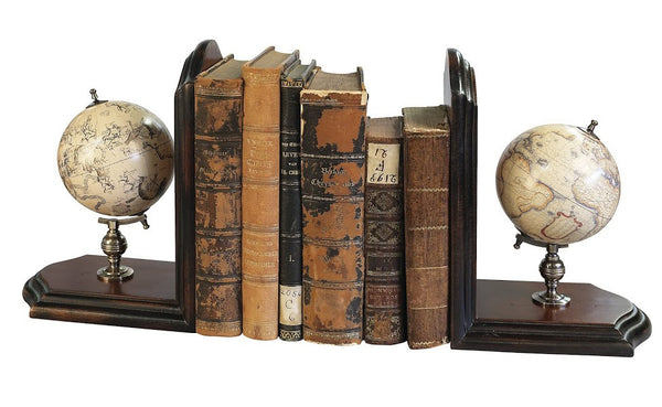 Globe bookends, Accent  - Bachelor Haus