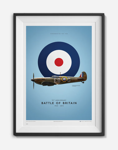 Supermarine Spitfire MK1 Limited Edition Print, art  - Bachelor Haus
