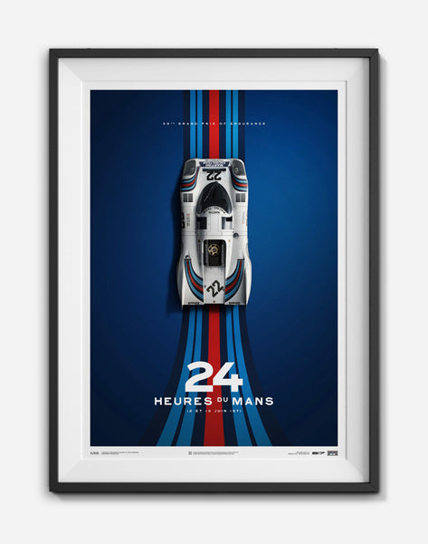 Porsche 917K 24 Hours of Le Mans Limited Edition, art  - Bachelor Haus
