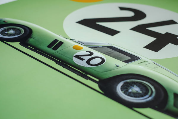 Limited Edition Art Ferrari 250 GTO 1962, Artwork  - Bachelor Haus