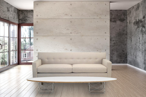 "The Dupont Driftwood sofa with ""Surfboard"", Apartment, Condo, Studios  - Bachelor Haus"